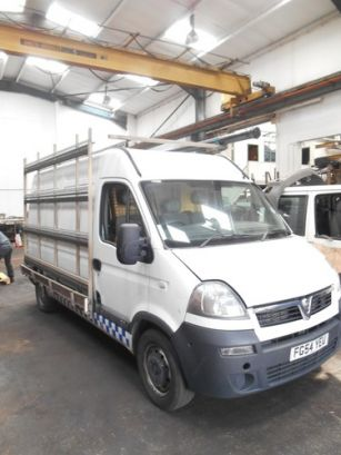 Renault Master Movano Interstar Glass Carrier Roof Rack